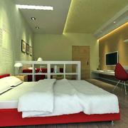 简单型卧室硅藻泥设计