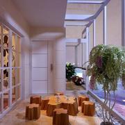 紫色怡情阳台装修设计
