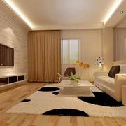 浅米色硅藻泥墙面设计