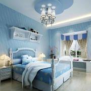 地中海风格卧室装修吊灯图