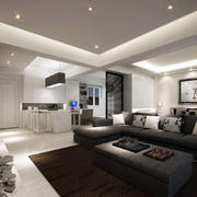 客厅石膏线装修整体设计