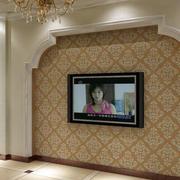 客厅欧式拱形背景墙设计