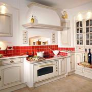 别墅厨房整体式橱柜