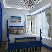 地中海风格卧室装修整体图