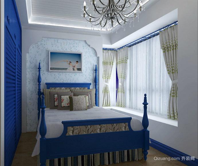 轻松大户型地中海风格卧室装修效果图