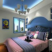 地中海风格卧室装修色调搭配