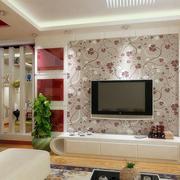 客厅硅藻泥背景墙色调搭配