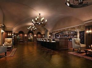 180平米大型都市时尚酒吧装修效果图