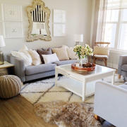 90平米房屋客厅茶几设计