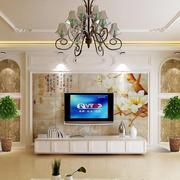 鱼景电视背景墙设计