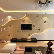 图案式硅藻泥影视墙