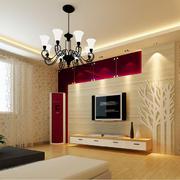 客厅石膏线装修墙面图