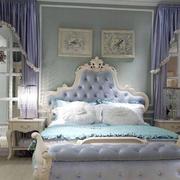 地中海风格卧室装修背景墙图