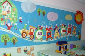 清新型幼儿园墙面装修