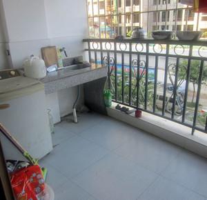 别墅开放型阳台装修效果图片