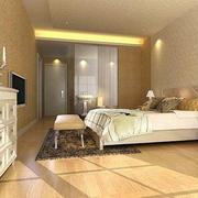田园风格卧室床头柜设计