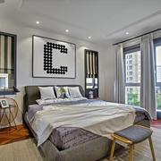 90平米家居卧室门窗设计