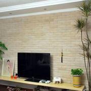自然风格硅藻泥背景墙