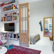 90平米欧式典雅型房子设计