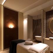 简约欧式美容院房间设计
