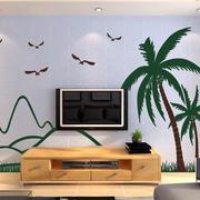 精致型硅藻泥背景墙