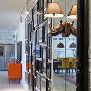 60平米餐厅透明玻璃设计