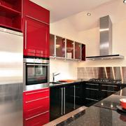 现代简约别墅厨房橱柜