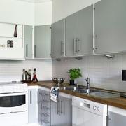 厨房不锈钢橱柜装修效果图