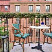 90平米典型美式阳台设计