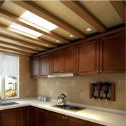 生态木吊顶房屋设计色调搭配