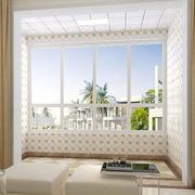 封闭式客厅阳台瓷砖