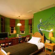 儿童房动漫墙体彩绘