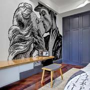 90平米家居个性背景墙设计