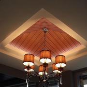 美式客厅原木装修