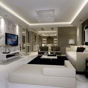 简约风格客厅沙发设计