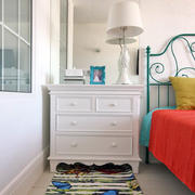 60平米粉色系卧室设计