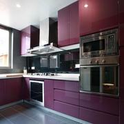 厨房不锈钢橱柜整体图