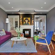 90平米温馨灿烂型沙发设计