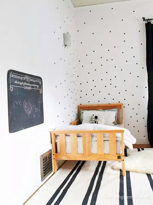 素雅平淡:90平米美式小三房装修效果图