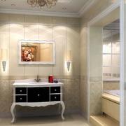 大户型卫生间瓷砖墙面