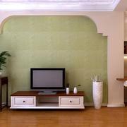 浅色调硅藻泥背景墙
