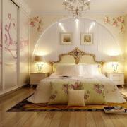 优雅卧室墙体彩绘欣赏