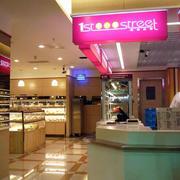 蛋糕店蛋糕展示柜设计灯光设计