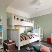 儿童房背景墙装修整体图