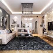 小户型装修诺贝尔瓷砖客厅图