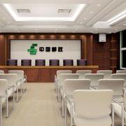 大型会议室主席台装修