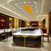 珠宝店展柜图片