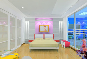 90平米房屋房间装修