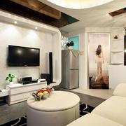 90平米房屋电视墙装修