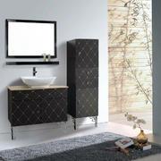 浴室不锈钢浴室柜装修造型设计